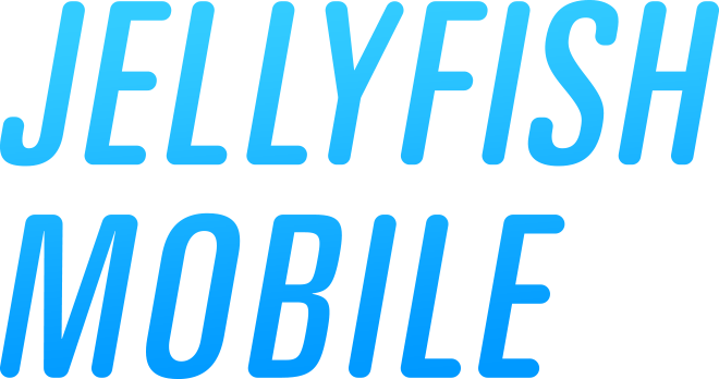 lumaforge jellyfish mobile logo full text stacked
