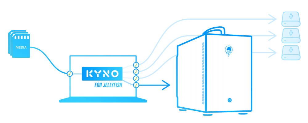 Kyno For Jellyfish verified offload