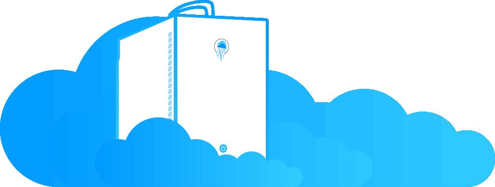Jellyfish remote access clouds 2x